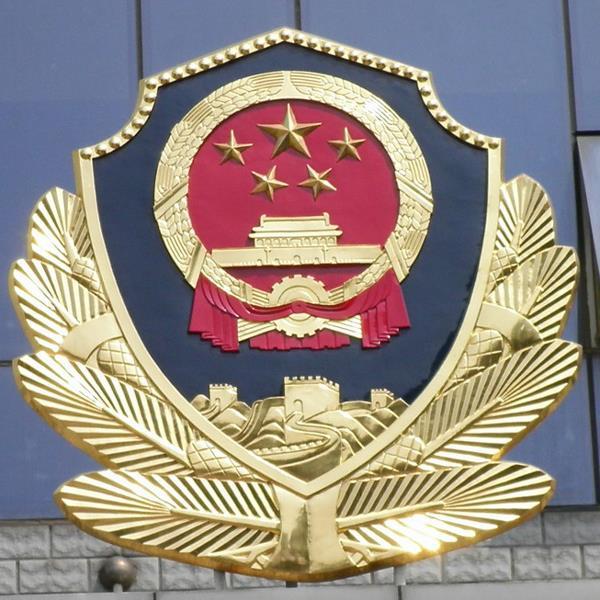 大型武警警徽